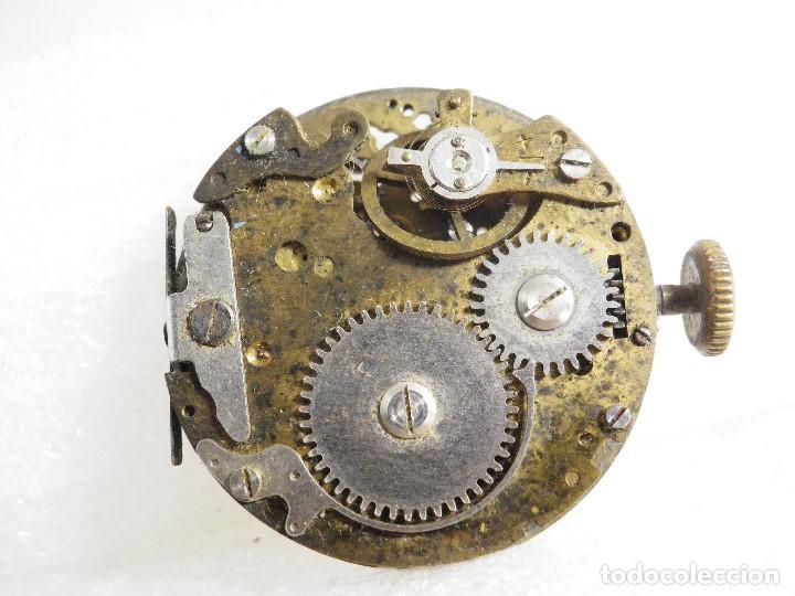 Recambios de relojes: FORNITURA ANTIGUO CALIBRE MECANICO CRONOGRAFO PARA PIEZAS REPARAR LOTE WATCHES - Foto 5 - 207664486