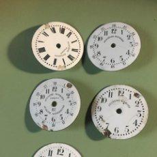 Ricambi di orologi: LOTE 5 ESFERAS RELOJ BOLSILLO SYSTEME ROSKOPF. Lote 208375217