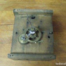 Recambios de relojes: ANTIGUA MAQUINARIA RATERA DE LA SELVA NEGRA DE ALEMANIA- AÑO 1870- LOTE 283-FUNCIONAL. Lote 209965107