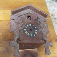 Recambios de relojes: ANTIGUO CUCO DE MADERA SELVA NEGRA DE ALEMANIA- LOTE 272. Lote 209971351