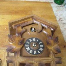 Recambios de relojes: ANTIGUO CUCO DE MADERA SELVA NEGRA DE ALEMANIA- LOTE 272. Lote 209971487