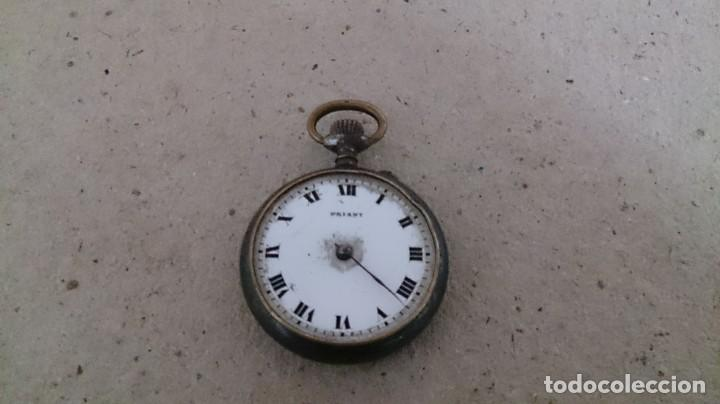 Recambios de relojes: Reloj de bolsillo para piezas - Foto 5 - 210153160