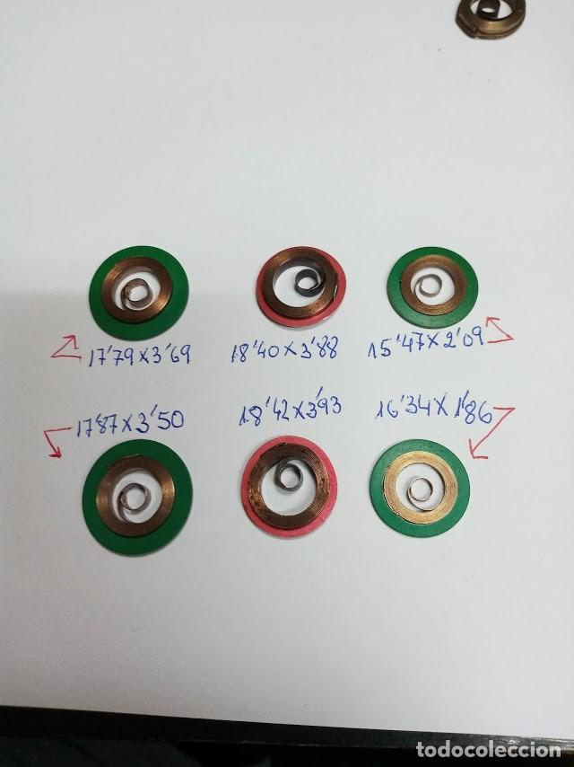 CUERDAS - 6 UNDS- DIFERENTES MEDIDAS (CD-H21FX) (Relojes - Recambios)