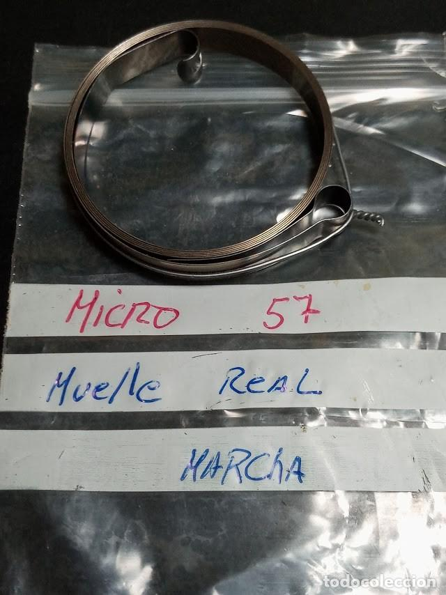 MUELLE REAL MICRO - 57 - S/C (Relojes - Recambios)