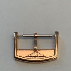 Recambios de relojes: HEBILLA LONGINES 18 MM COLOR ORO. Lote 210250075
