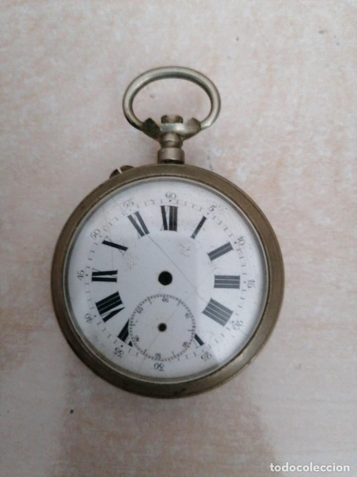 CARCASA Y ESFERA DE RELOJ DE BOLSILLO (Relojes - Recambios)