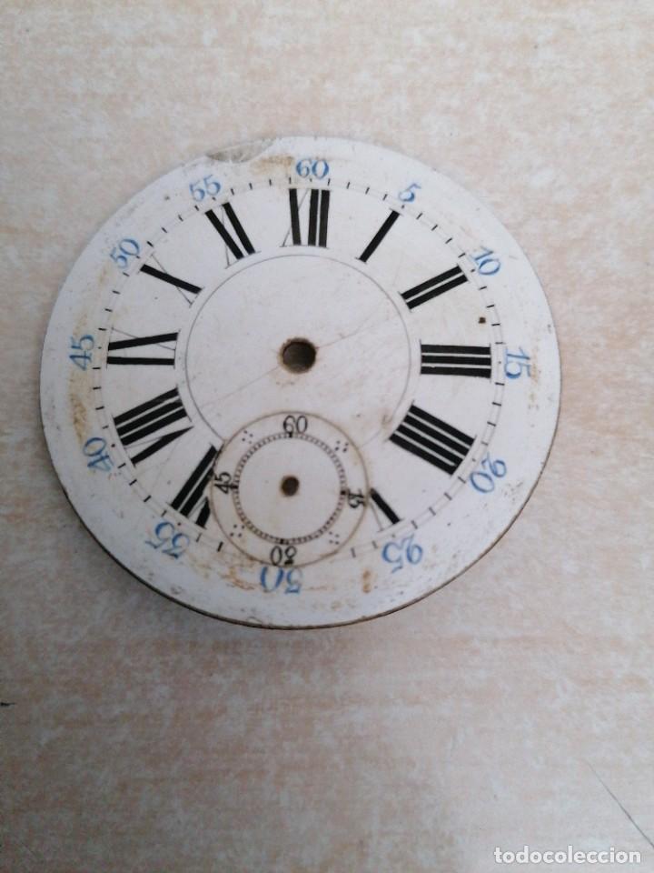 Recambios de relojes: 2 Esferas de reloj de bolsillo - Foto 2 - 210395356