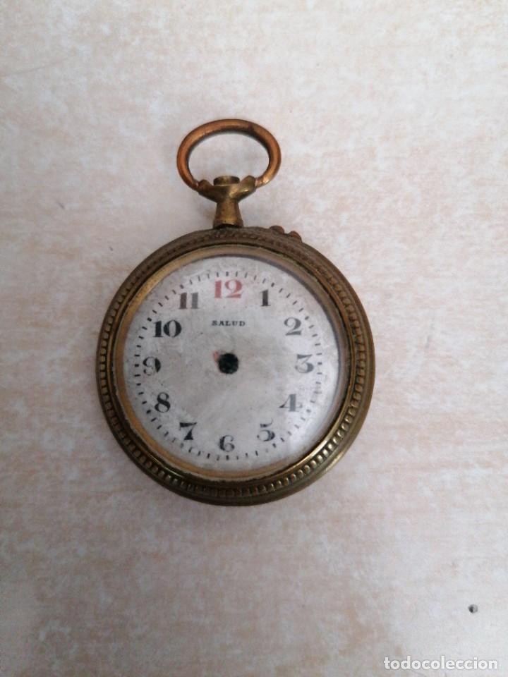 RELOJ DE BOLSILLO MARCA SALUD (Relojes - Recambios)