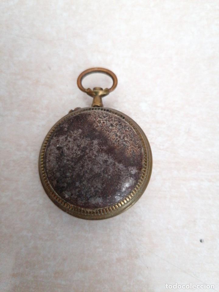 Recambios de relojes: Reloj de bolsillo marca salud - Foto 2 - 210396837