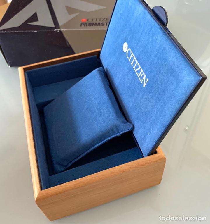Recambios de relojes: Caja box relojes Citizen Promaster nueva - Foto 3 - 210412935