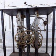 Pièces de rechange de montres et horloges: ESQUELETO DE RELOJ MOREZ CATALINO. Lote 210415702