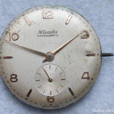 Recambios de relojes: CALIBRE PARA RELOJ PULSERA MECANICO NIVADA COMPENSAMATIC. Lote 210460610