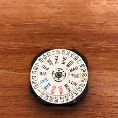 Pièces de rechange de montres et horloges: MAQUINARIA RELOJ SEIKO 7N43A /2 DOBLE CALENDARIO CUARZO. Lote 210575688