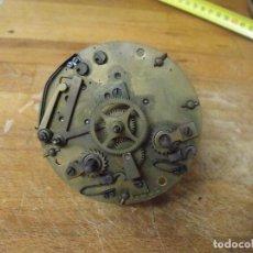 Recambios de relojes: ANTIGUA MAQUINARIA PARIS PARA RELOJ SOBREMESA-AÑO 1870- LOTE 284. Lote 228003275