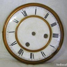 Recambios de relojes: ESFERA DE PORCELANA PARA RELOJ DE PARED. Lote 210609093