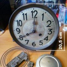 Recambios de relojes: JUNGHANS A22 CPL, ESFERA Ø 20.5 CM, REEMPLACE LA MÁQUINA PARA EL RELOJ DE PARED.. Lote 210779529