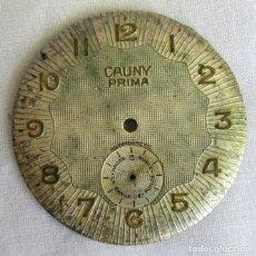 Recambios de relojes: ESFERA DE RELOJ CAUNY PRIMA. Lote 212092598