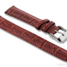 Recambios de relojes: CORREA PARA RELOJ PIEL 22 MM - NUEVA. Lote 244847755