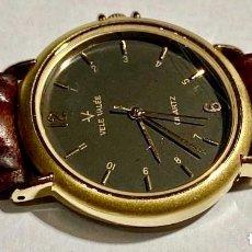 Recambios de relojes: VELE VALÉE 33,6 M/M. C/C. DORADO ,MECANISMO MIYOTA QUARTZ .. Lote 192121825