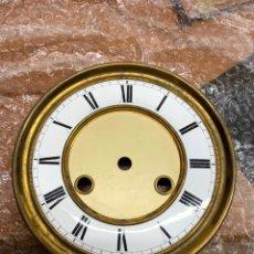 Recambios de relojes: ESFERA PORCELANA RELOJ REGULADOR. Lote 213979982