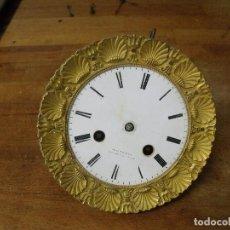 Recambios de relojes: ANTIGUA MAQUINARIA PARIS PARA RELOJ IMPERIO O PORTICO- LOTE 300. Lote 214991433