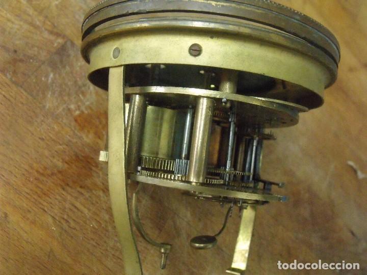 Recambios de relojes: Antigua maquinaria Paris para reloj sobremesa-año 1870- para restaurar o piezas- lote 300 - Foto 5 - 214991583