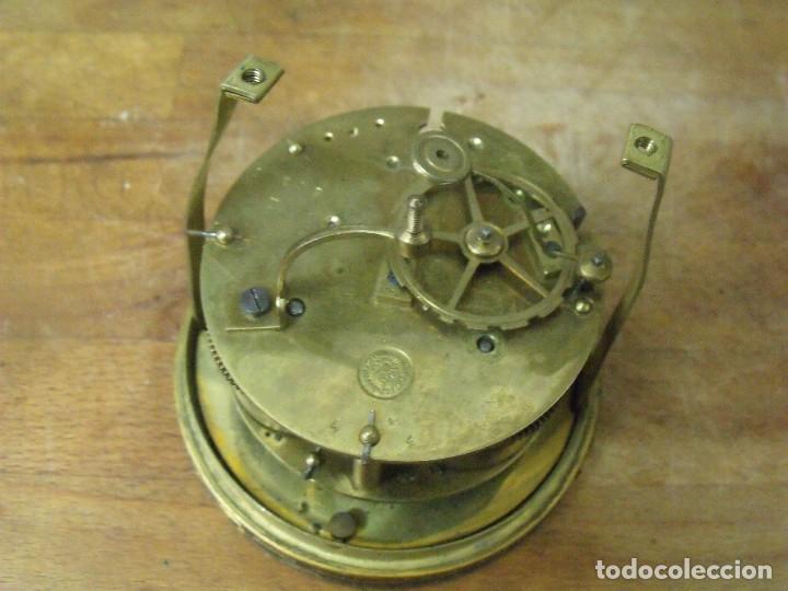 Recambios de relojes: Antigua maquinaria Paris para reloj sobremesa-año 1870- para restaurar o piezas- lote 300 - Foto 7 - 214991583