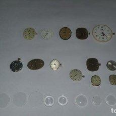 Recambios de relojes: 13 MAQUINARIAS FORNITURA RELOJ OMEGA TISSOT DUWARD FESTINA VICEROY. Lote 215377880