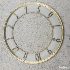 Recambios de relojes: ESFERA RELOJ ANTIGUO DIÁMETRO 12,5 CM. Lote 218030943