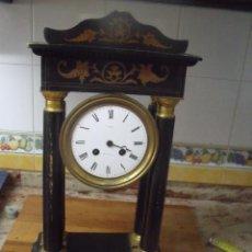 Recambios de relojes: ANTIGUO RELOJ IMPERIO DE PORTICO AÑO 1870- PARA RESTAURAR O PIEZAS-. Lote 218441783