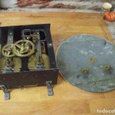 Recambios de relojes: ANTIGUA MAQUINARIA MOREZ Y CHAPA DE ESFERA PARA OJO DE BUEY- LOTE 306. Lote 218721755