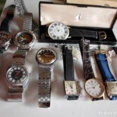 Recambios de relojes: LOTE DE RELOJES PARA RESTAURAR. Lote 221144467