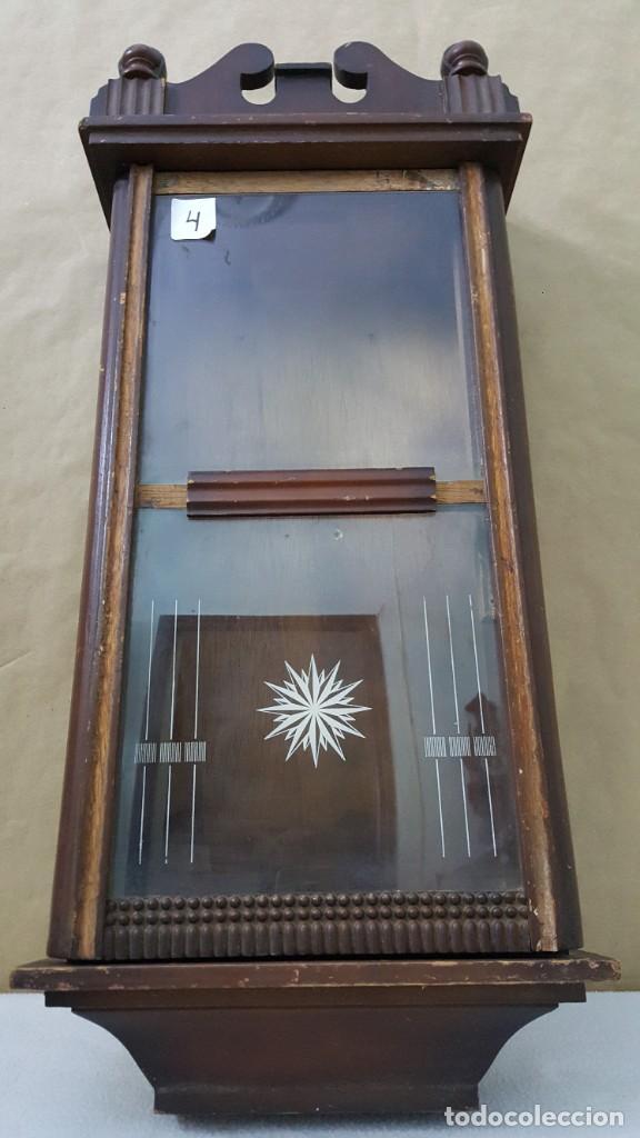 CAJA DE RELOJ DE PARED (Relojes - Recambios)