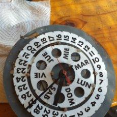 Recambios de relojes: NI IDEA ,RELOJ Y COMO CALENDARIO. Lote 222108206