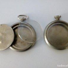 Recambios de relojes: RELOJES DE BOLSILLO-CAJAS. Lote 222242268
