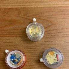 Recambios de relojes: LOTE 3 MOVIMIENTOS DE CUARZO SUIZOS SIN ESTRENAR. Lote 222276950