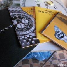 Recambios de relojes: LOTE DE MANUAL DE SERVICIO RELOJES BREITLING. Lote 222393992
