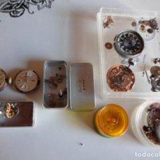 Recambios de relojes: DESPIEZE DE RELOJES VARIAS MARCAS. Lote 222396332
