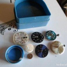 Recambios de relojes: DESPIEZE DE RELOJES VARIAS MARCAS. Lote 222396427