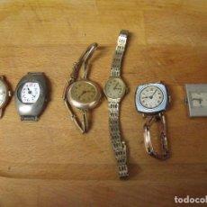 Recambios de relojes: 6 RELOJES MECANICOS ANTIGUOS ART-DECO- AÑO 1920- LOTE 259. Lote 222439392