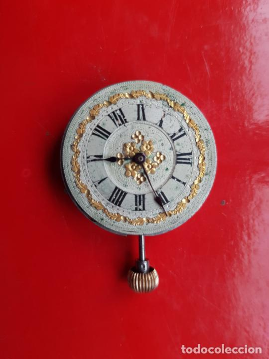 Recambios de relojes: CALIBRE + ESFERA PROCEDENTE RELOJ ORO PARA SABONETA 30MM - Foto 2 - 222752365