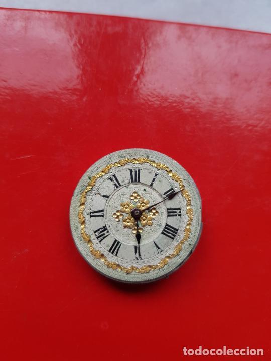 Recambios de relojes: CALIBRE + ESFERA PROCEDENTE RELOJ ORO PARA SABONETA 30MM - Foto 3 - 222752365