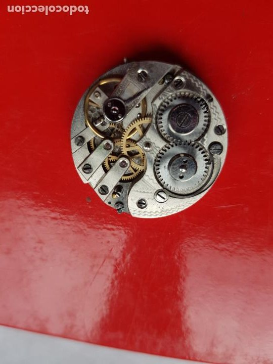 Recambios de relojes: CALIBRE + ESFERA PROCEDENTE RELOJ ORO PARA SABONETA 30MM - Foto 5 - 222752365