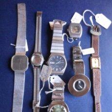 Recambios de relojes: LOTE DE RELOJES PARA PIEZA O RESTAURACIÓN. Lote 222934078