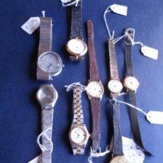 Recambios de relojes: LOTE DE RELOJES PARA PIEZA O RESTAURACIÓN. Lote 222934401