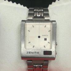 Recambios de relojes: CAJA DE RELOJ ZENITH FUTUR TIME COMMAND 1975 REF. 02.0014.471. Lote 224405038