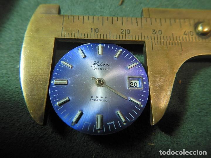 Recambios de relojes: Maquina y esfera reloj Halcón. - Foto 4 - 225355031