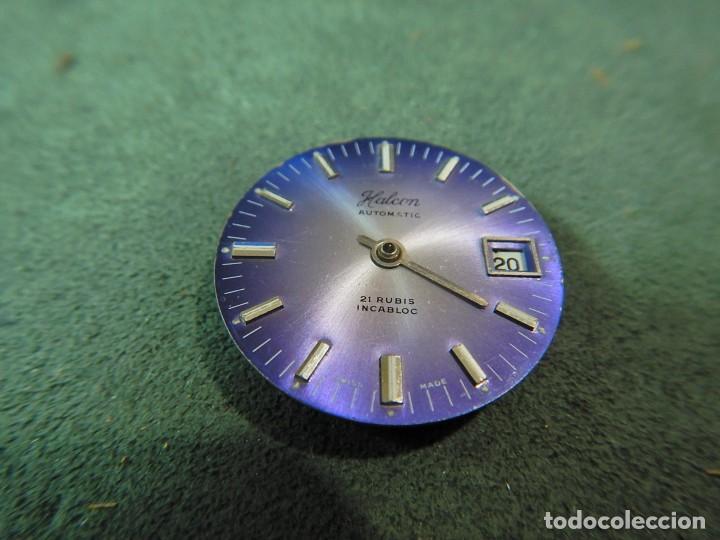 Recambios de relojes: Maquina y esfera reloj Halcón. - Foto 2 - 225355031