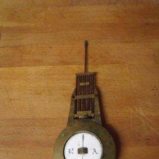 Recambios de relojes: ANTIGUO PENDULO PARA RELOJ IMPERIO 0 PORTICO - AÑO 1860- LOTE 319. Lote 225715060