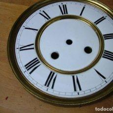 Ricambi di orologi: GRAN ESFERA EN PORCELANA-18,5 CM- PARA RELOJES VIENESES O ALFONSINOS GRANDES- LOTE 326. Lote 228087410
